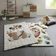 Kinderteppich Panda in Beige ca. 100x150cm - Beige, Basics, Textil (100/150cm) - Mömax modern living