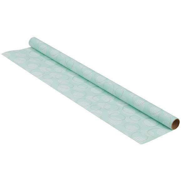 Darilni Papir Marie - meta zelena/zlata, papir (70/200cm)