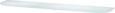 Stenski Regal Zaobljeno Belo Steklo -sb- - opal, steklo (15/60/0,6cm) - Mömax modern living