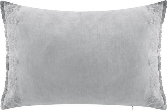 Kissen Melina 40x60cm - Grau, ROMANTIK / LANDHAUS, Textil (40/60cm) - Mömax modern living