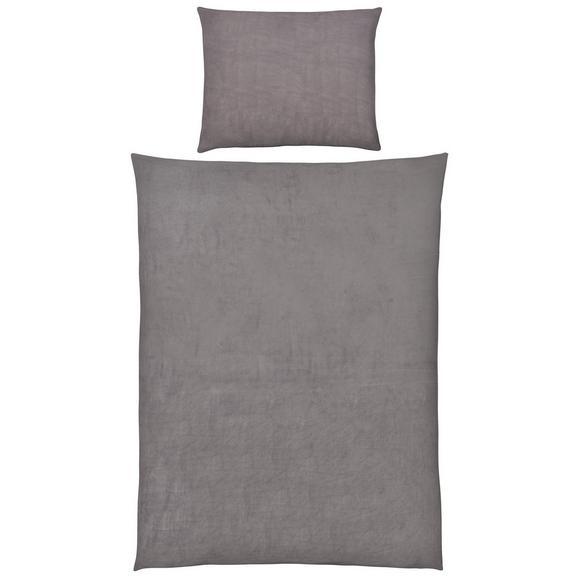 Ágyneműhuzat-garnitúra Wende - Szürke, konvencionális, Textil (140/200cm) - Mömax modern living