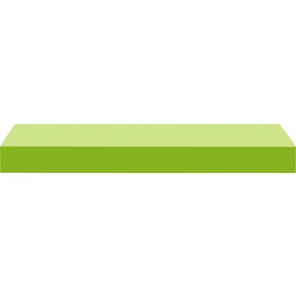 Wandboard Hellgrün - Hellgrün, Holzwerkstoff (50/4,4/24cm) - Mömax modern living