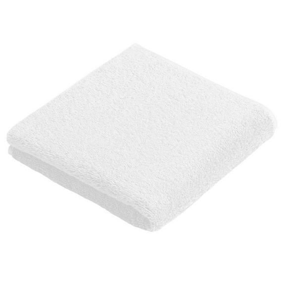 Kéztörlő Vossen New Generation - fehér, textil (30/50cm)