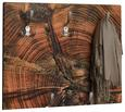 Wandgarderobe Natur - Naturfarben, MODERN, Holzwerkstoff (60/60/9cm)
