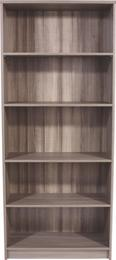 Regal 4-you Yur03 - temno rjava, leseni material (74/189,5/34,6cm) - Mömax modern living