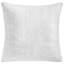 Fellkissen Elina 40x40 cm - Weiß, MODERN, Textil (40/40cm) - Mömax modern living