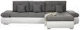 Kotna Sedežna Garnitura Enrico - siva/črna, Moderno, kovina/umetna masa (303/185cm) - Mömax modern living