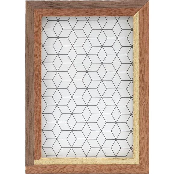 bilderrahmen woody in braun ca 12x17cm online kaufen m max. Black Bedroom Furniture Sets. Home Design Ideas