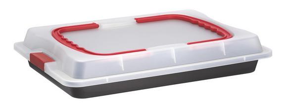 Hordozható Süteményes Doboz Anni - műanyag/fém (42,5/29,5/8cm) - MÖMAX modern living
