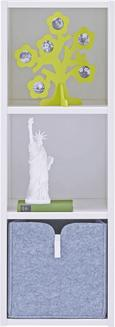 Regal Sunny - bela, Moderno, les (38/110/38cm) - Premium Living