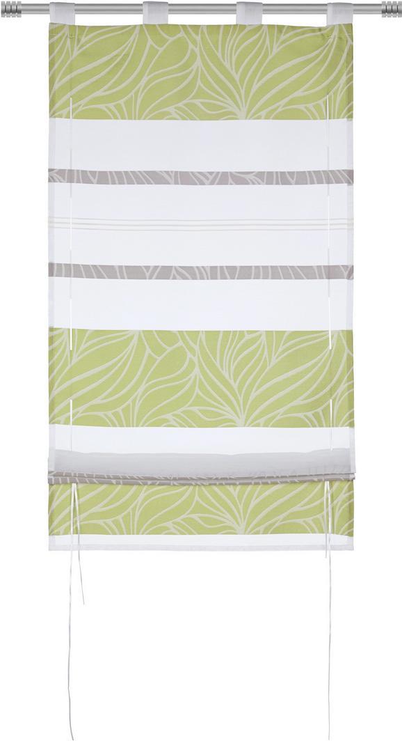 Szövetroló Anita - Zöld, konvencionális, Textil (60/140cm) - Mömax modern living