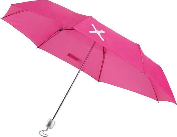 Dežnik Mömax 4 You -ext- - roza, kovina/umetna masa (96cm) - Mömax modern living