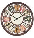Wanduhr Andrea, D: ca. 80cm - Multicolor, LIFESTYLE, Holz (80cm) - MÖMAX modern living