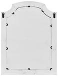 Spiegel Lewis Vintage ca. 63x85 cm - Weiß, MODERN, Glas/Holz (63/85/3,5cm) - Mömax modern living