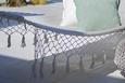 Függőágy Valencia - Fehér, Textil (200/100cm) - Zandiara