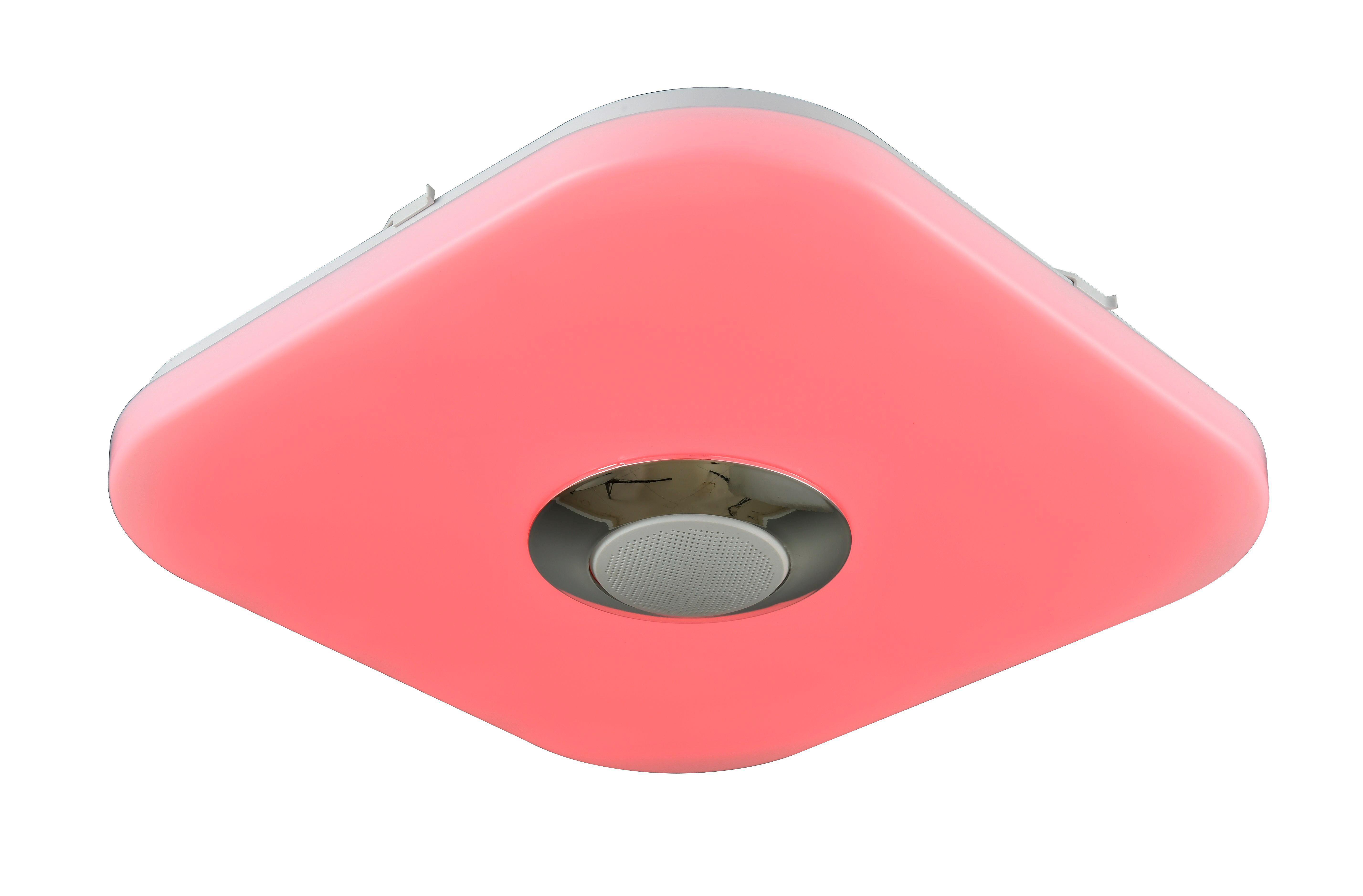 LED-Deckenleuchte Luan, max. 12 Watt - Weiß, KONVENTIONELL, Kunststoff (35/35/7,5cm) - MÖMAX modern living