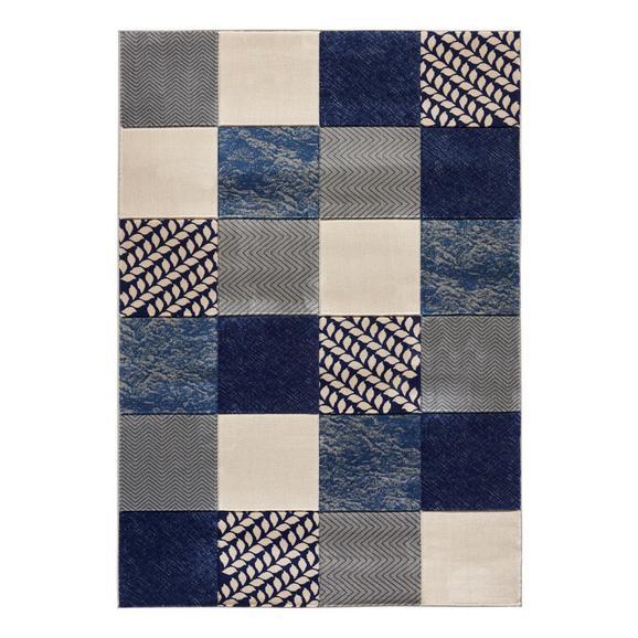 Szőtt Szőnyeg Gregoria - Szürke/Kék, modern, Textil (120/170cm) - Mömax modern living