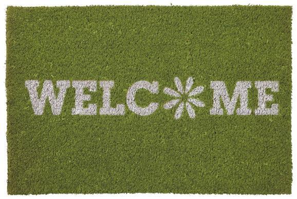 Fußmatte Welcome Spring, ca. 40x60cm - Grün, Textil (40/60cm) - Mömax modern living