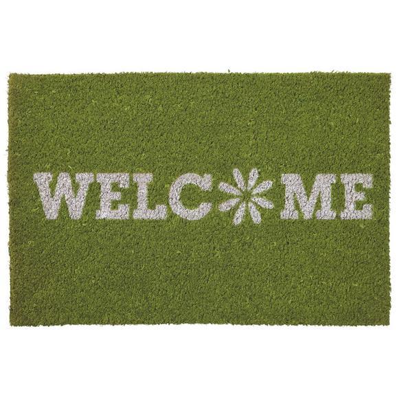 Predpražnik Welcome Spring - zelena, tekstil (40/60cm) - Mömax modern living