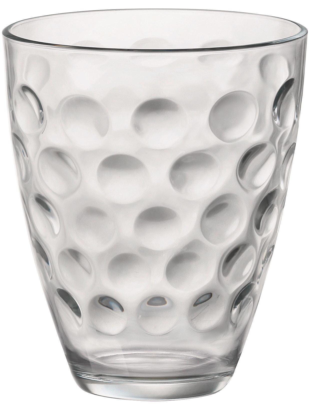 Pohár Szett Dots - tiszta, üveg (17,0/25,7/10,90cm) - MÖMAX modern living
