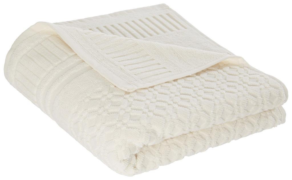 Handtuch Carina in Weiß