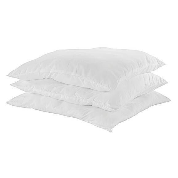 Kissen ZILLY - Weiß, Textil (80/80cm) - Nadana