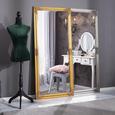 Wandspiegel in Silberfarben ca. 72x162x3cm - Silberfarben, MODERN, Glas/Holz (72/162/3cm) - Mömax modern living