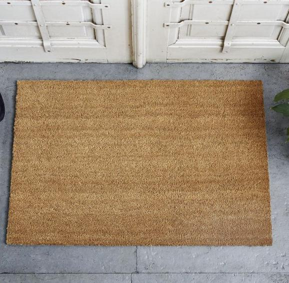 Fußmatte Plain ca.60x90cm - Braun, MODERN, Textil (60/90cm) - Mömax modern living