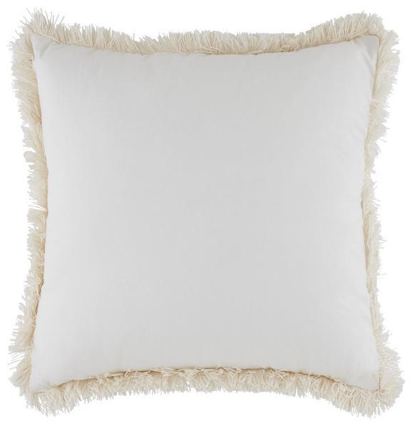 Zierkissen Serafine Weiß 45x45cm - Weiß, MODERN, Textil (45/45cm) - MÖMAX modern living