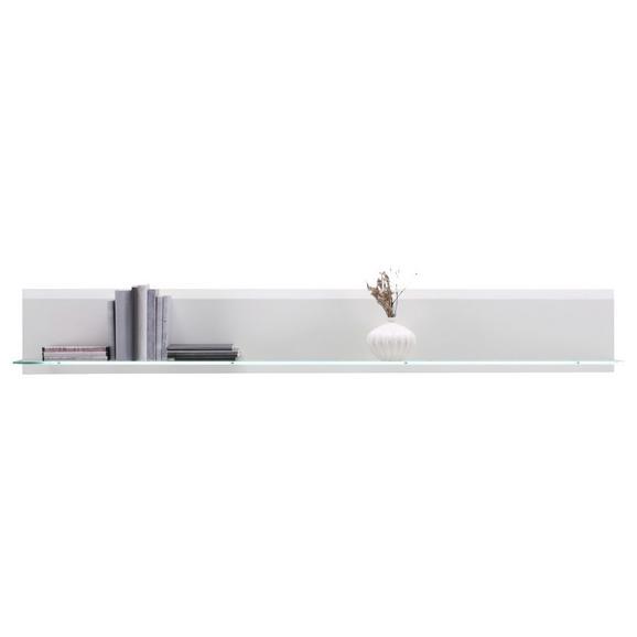Wandboard Weiß - Weiß, MODERN, Holzwerkstoff (176/35/20cm) - Premium Living