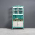 Buffet Riccardo - Türkis/Braun, MODERN, Glas/Holz (90/184/43cm) - MÖMAX modern living