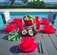 Salatschüssel Uni Pink - Pink, Trend, Kunststoff (25,4/11,7cm) - Mömax modern living