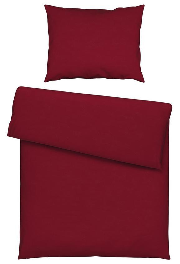 Posteljina Marion In Grau, Ca. 140x200cm - bordeaux, KONVENTIONELL, tekstil (140/200cm) - Premium Living