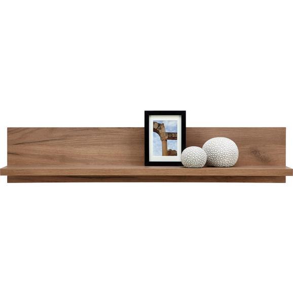 Zidna Polica Avensis - boje hrasta, Modern, drvni materijal (100/20/20cm) - Modern Living