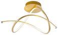 LED-Deckenleuchte Violetta max. 30 Watt - Goldfarben, Kunststoff/Metall (51/28/30cm)