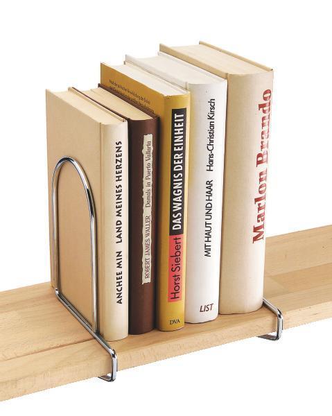 Könyvtámasz Büstü - krómszínű, fém (17,5/5,5cm) - MÖMAX modern living