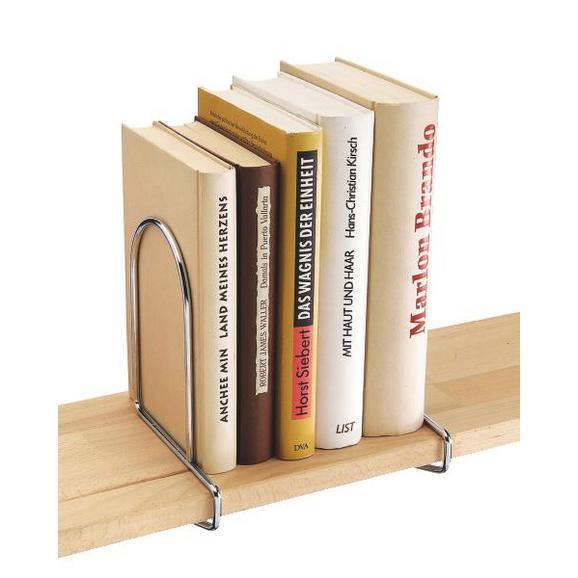 Opora Za Knjige Büstü - krom, kovina (17,5/5,5cm) - Mömax modern living