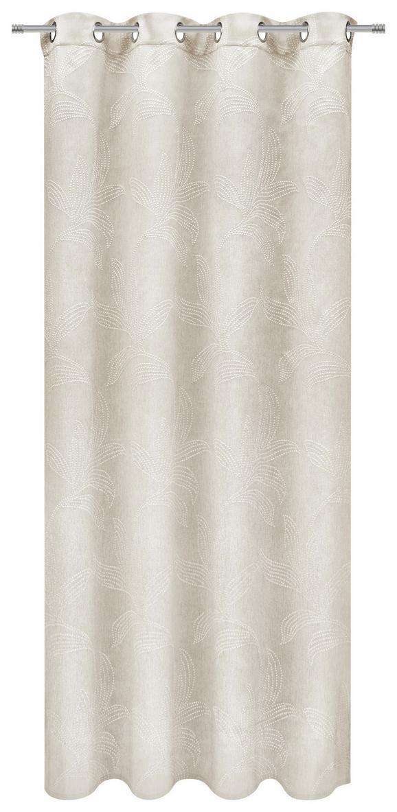 Készfüggöny Linda - Natúr, konvencionális, Textil (140/245cm) - MÖMAX modern living