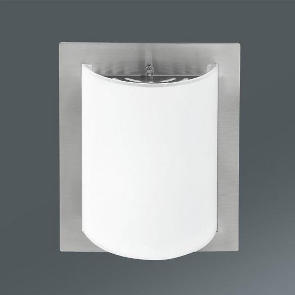 Falilámpa Luisa - Nikkel, konvencionális, Üveg/Fém (20/8,5/25cm) - MÖMAX modern living