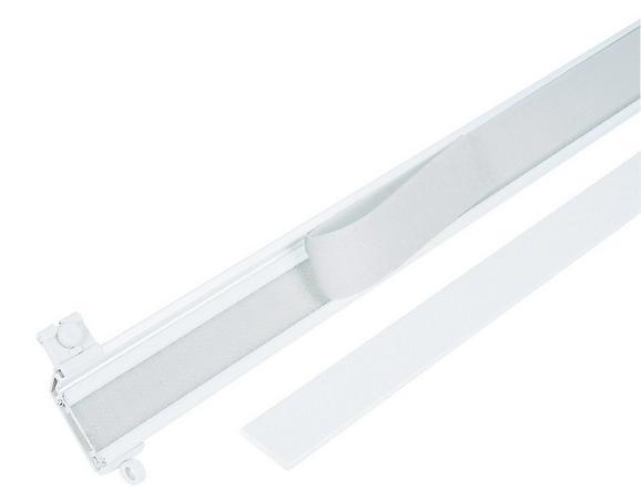 Klettverschluss Kletti - Weiß, Textil (150cm) - Mömax modern living