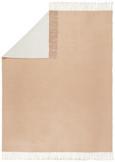 Decke Livia Wende, 130x170 cm - Beige/Weiß, ROMANTIK / LANDHAUS, Textil (130/170cm) - Mömax modern living