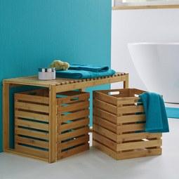 Aufbewahrungsbox Mirella - MODERN, Holz/Holzwerkstoff (30/36/34,60cm) - Modern Living