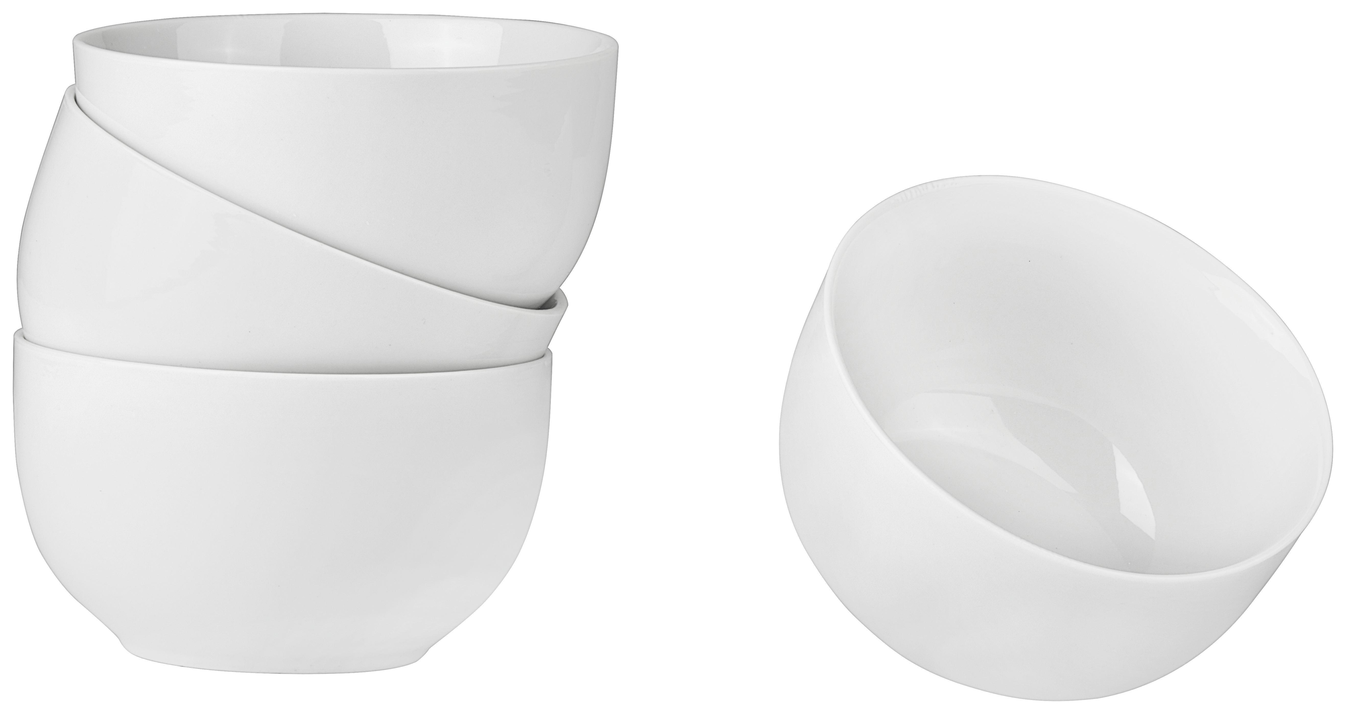 Skodelica Za Kosmiče Billy - bela, Moderno, keramika (13/7,4cm) - MÖMAX modern living