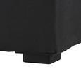 Boxspringbett Lucy 180x200cm inkl. Topper - Dunkelgrau, MODERN, Textil (205/186/103cm) - MÖMAX modern living