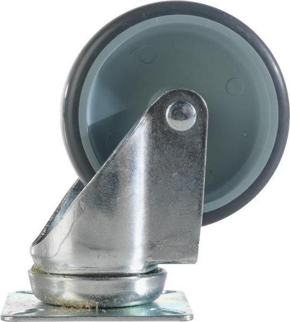 Pótgörgő Térelválasztókhoz - fém (1/1/1cm) - BASED