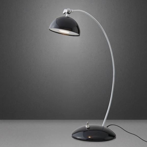 LED-Tischleuchte Amos - Schwarz, MODERN, Metall (23/12,5/35cm) - Mömax modern living