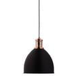 Hängeleuchte max. 60 Watt 'Ava' - Schwarz/Kupferfarben, MODERN, Metall (30/120cm) - Bessagi Home