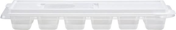 Eiswürfelform Ida in Weiß mit Deckel - Weiß, Kunststoff (27/9,5/3,8cm) - Mömax modern living