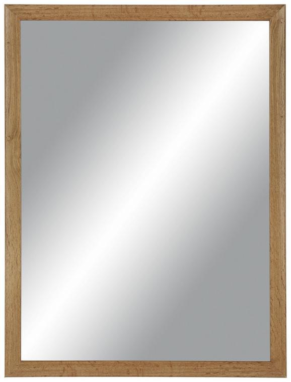 Wandspiegel Braun 60x80cm - Braun, MODERN, Glas/Holzwerkstoff (60/80cm)