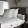 Boxspringbett Grau 180x200cm - Beige/Naturfarben, KONVENTIONELL, Holz/Textil (200/180/130cm) - Premium Living